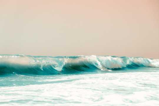 潮水海潮图片