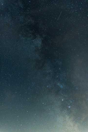 星空繁星点点唯美图片