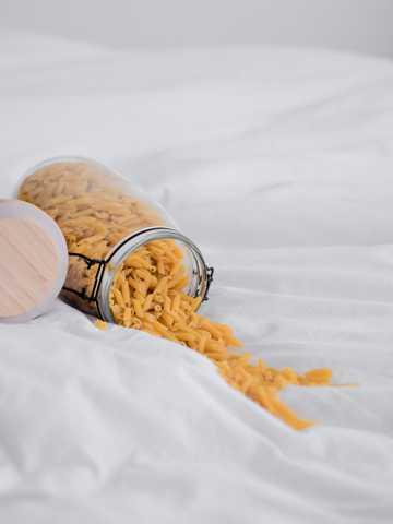 一罐通心意大利粉图片