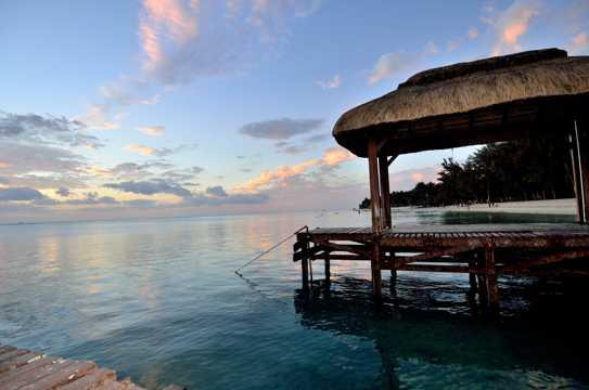 非洲毛里求斯景色图片