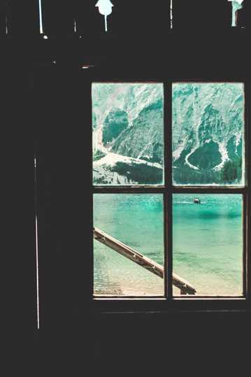 窗外自然风光图片
