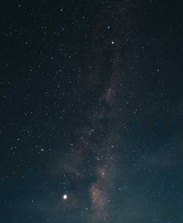 唯美灿烂夜空图片