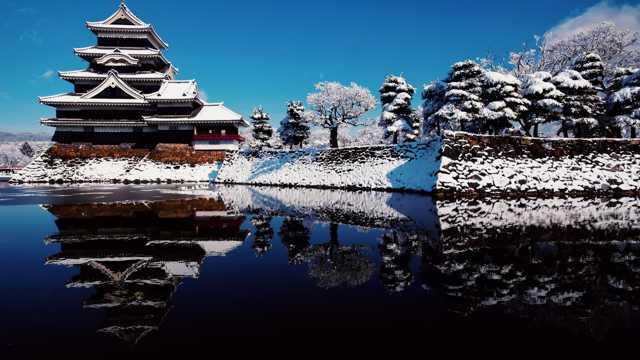初雪唯美风光图片