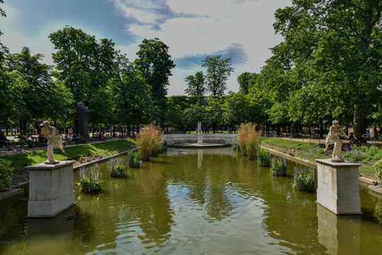 法国巴黎都市景色图片