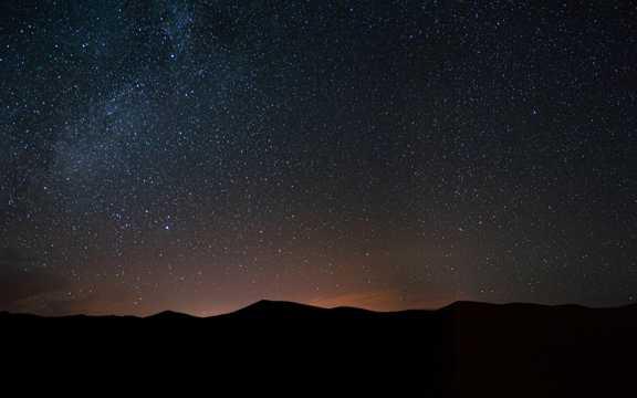 满天繁星星空图片