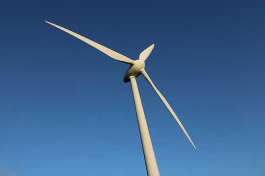 节能风车拍照图片