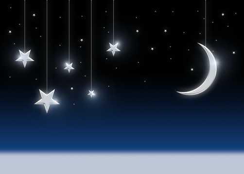 夜空繁星唯美图片