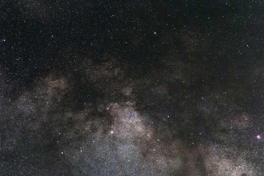 延时摄影的夜空图片