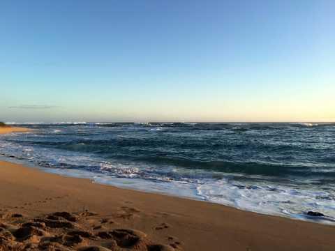 考艾岛沙滩图片