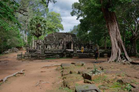 柬埔寨斑黛喀蒂寺自然风光图片
