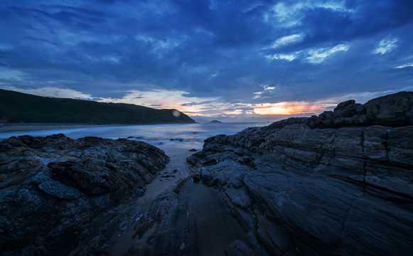 寂静的海滨图片