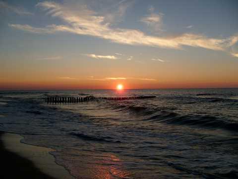 漂亮落日光景
