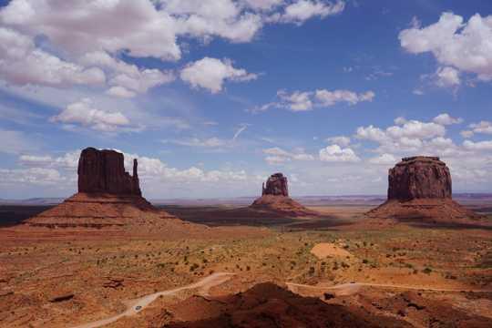西部自然风景图片