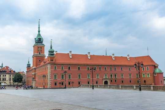 波兰首都华沙风光图片