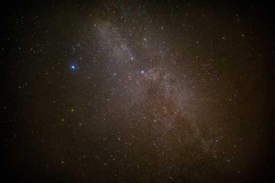 宇宙星云景色图片