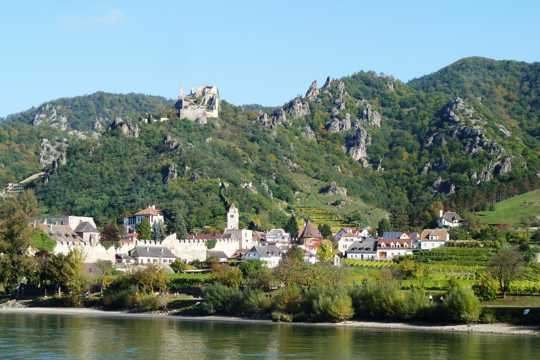 奥地利瓦豪景物图片