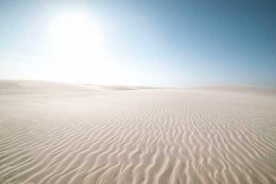 漫无边际荒芜大漠图片