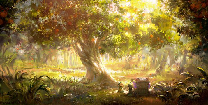 妖精树林的小不点图片