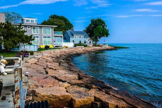 海滨别墅度假村图片